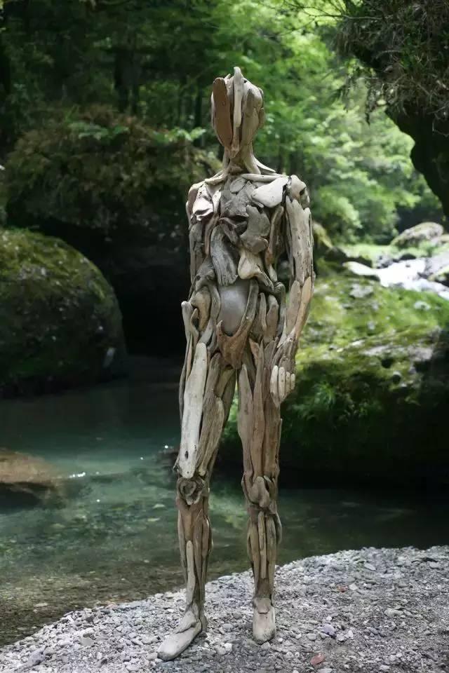日本露穴大但人体艺术_这正是日本艺术家nagato iwasaki 的作品, 这些人体雕像总能成功地
