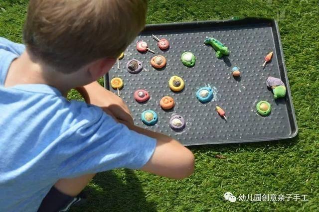 幼儿园亲子手工之贝壳废物利用,相框项链样样齐全