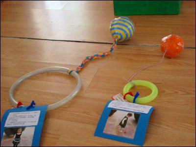 幼儿园老师自制体育器械手工 | 巧手教育