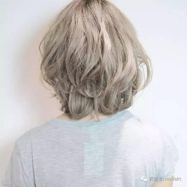 有一种流行发型叫圆形短发,很受人欢迎