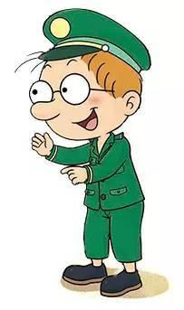 邮递员为什么要穿绿色的衣服?你一定想不到!图片