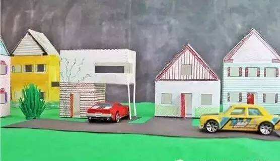 幼儿diy手工制作房子