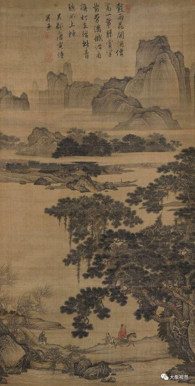 秘藏东瀛百年的唐寅《游春图》