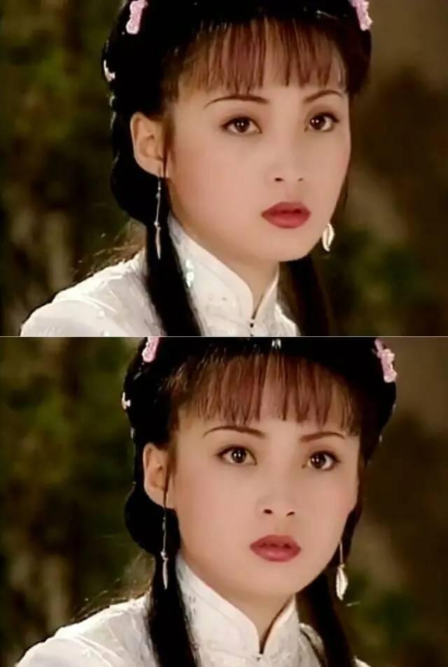 1998年出演《苍天有泪》,蒋勤勤真的是嫩得掐出水来.