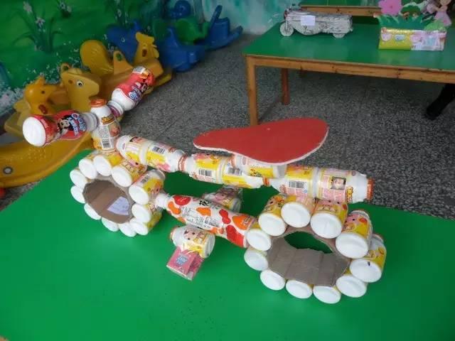幼儿园废旧物手工制作大全!