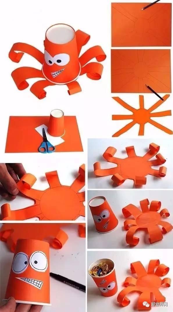100种幼儿纸杯创意手工制作,不可错过!