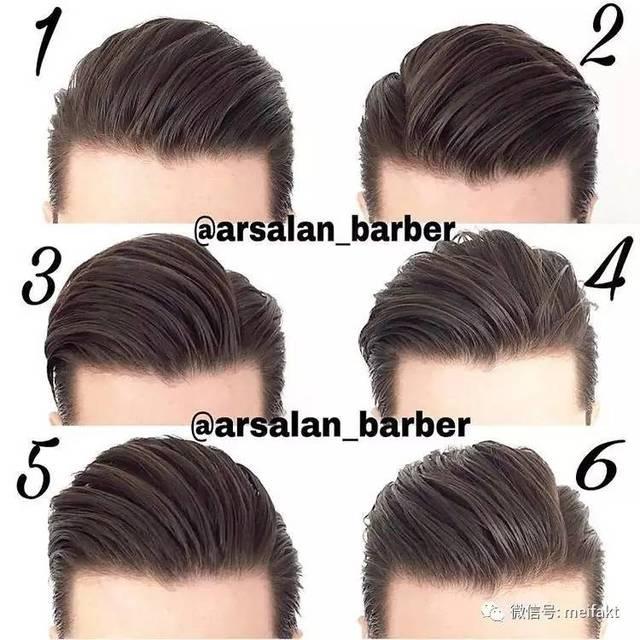 2017流行的男士流行发型,经典背头复古油头都很潮
