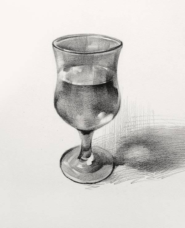 素描静物单个物体结构,明暗10个技巧,你真的掌握了?