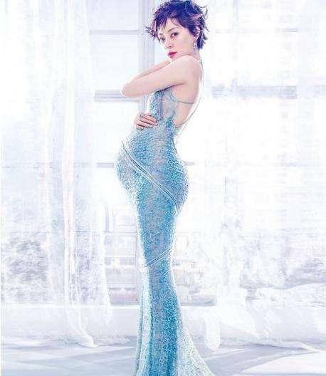 杨颖8月孕相似临盆,遗憾高调的她孕期从未拍写真