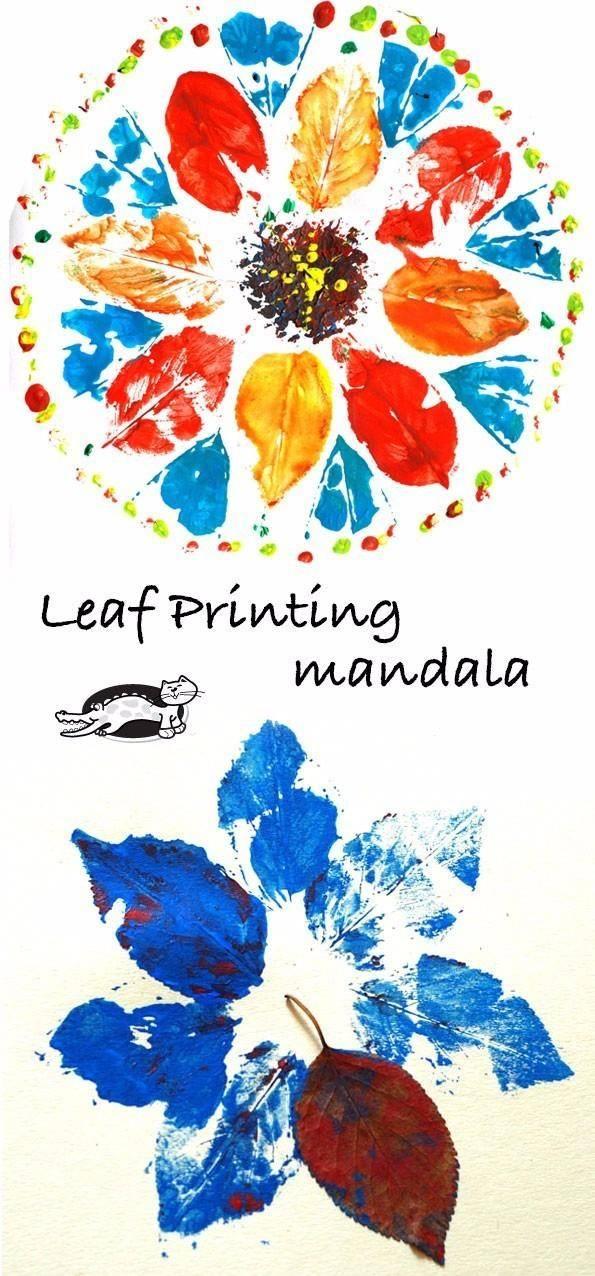 幼儿园亲子手工之美术创意:拓印+水粉画简单涂鸦图片