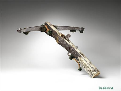 现存的十七世纪十字弩