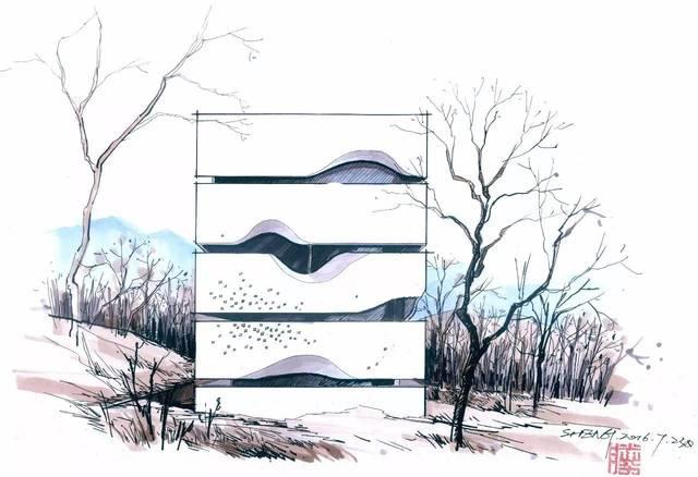 【?绘聚手绘下午茶】第9期—建筑视频篇02