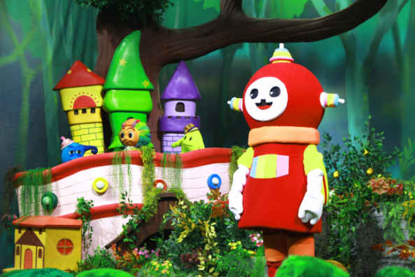 麦杰克小镇做客央视《第一动画乐园》受小朋友喜爱图片