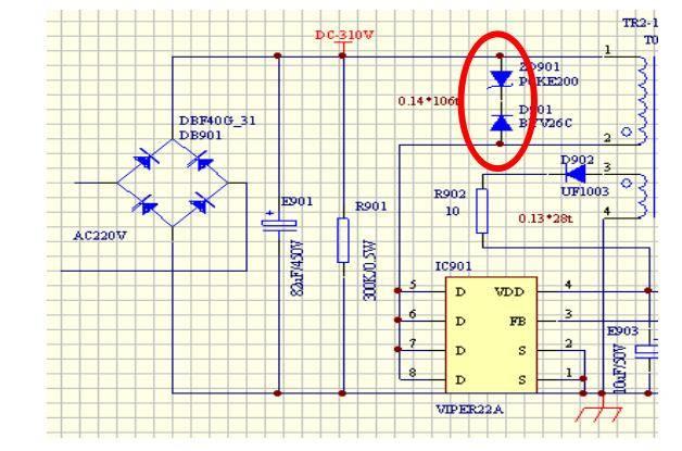 空调室外机开关电源电路工作原理
