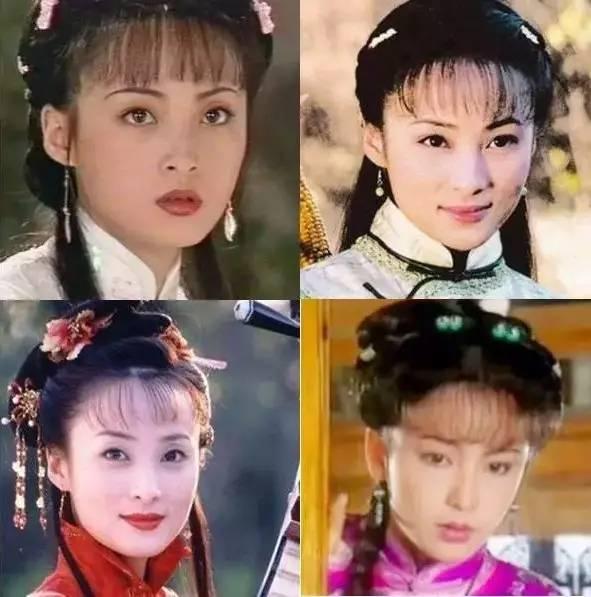 琼瑶女主才是真时髦!流行的空气刘海她们早留了(附今年最新梳法)图片