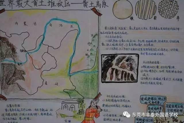 本次手抄报内容结合学生所学的地理知识:丰富充实,有地理奥秘,有祖国
