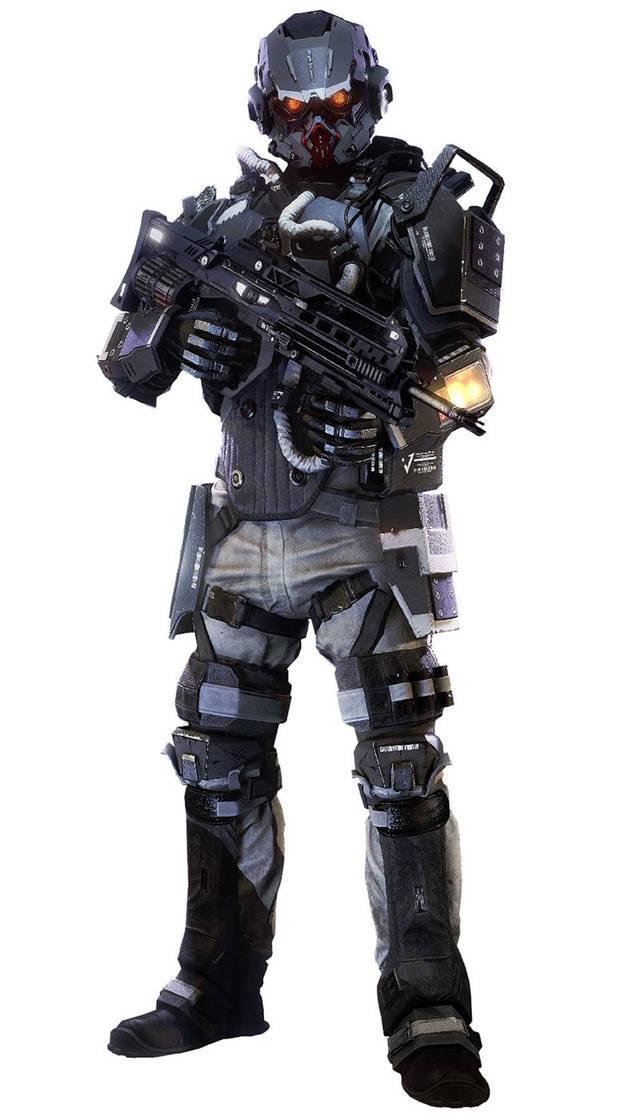 未来人类最强大的单兵作战武器之一的人形机甲,是不是