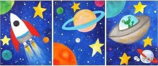 【创意手工】见过外星人吗?带孩子来场太空探秘吧!