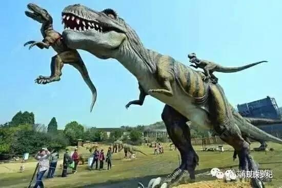 美爆了!【绿舵庄园】首届七彩风车  侏罗纪恐龙震撼来袭!图片