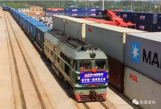 赣州的火车抵达赣州啦好消息!首趟俄罗斯至