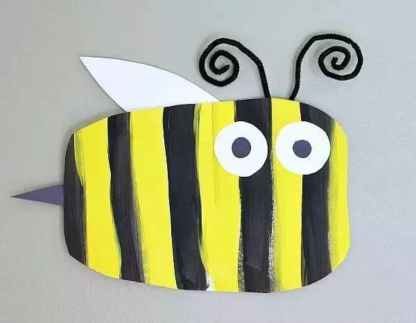 幼儿园创意手工制作:春天里的小昆虫_手机搜狐网
