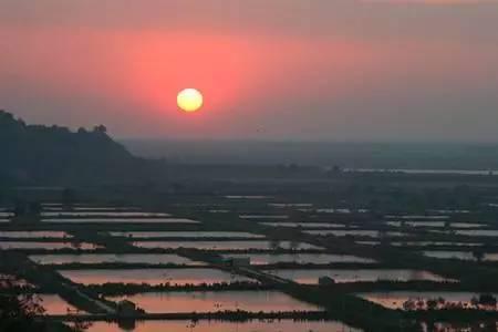 邙山脚下黄河之滨,万亩鱼塘星罗棋布犹如中原小江南 曾是刘邦,李世民图片