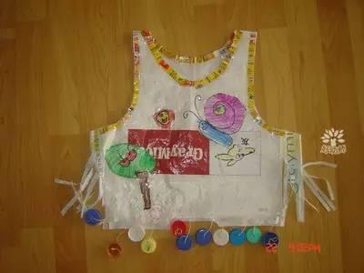 幼儿环保衣服手工制作图片