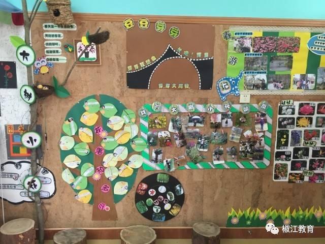 小班《石头大玩家》主题墙掠影 区域的创设和布置满足幼儿的探索
