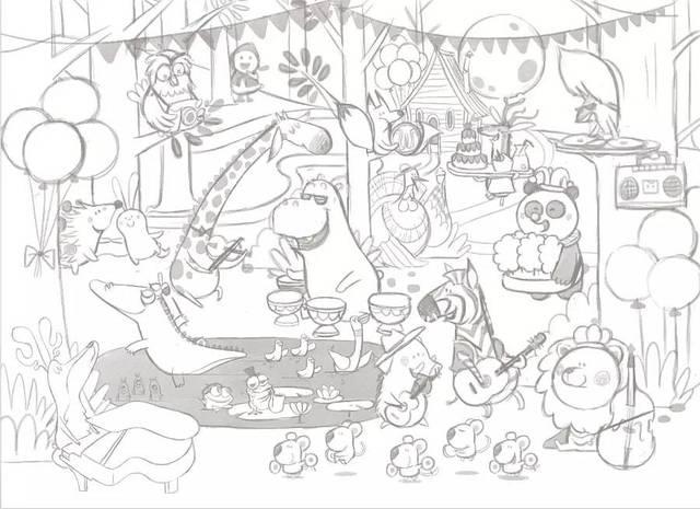 《动物音乐会》