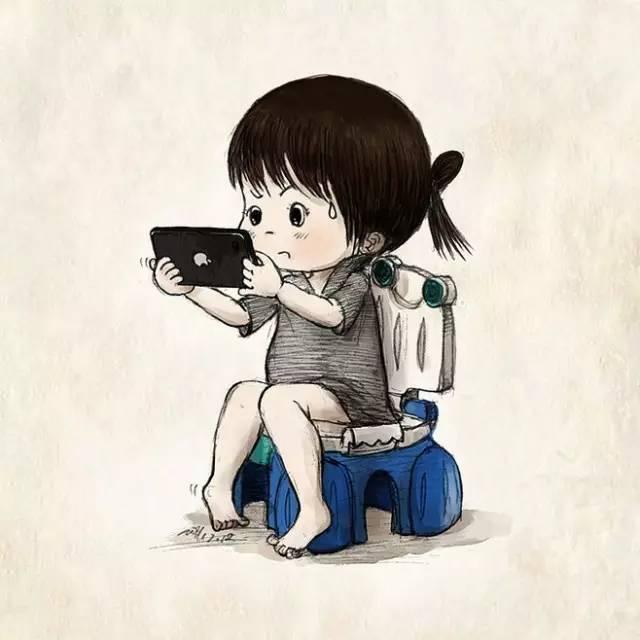 别再给漫画玩后果了,一组数据告诉你手机!九天凤临孩子图片