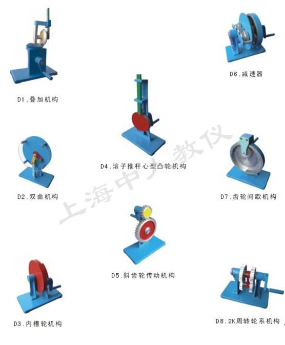 机构运动简图测绘模型价格|机械实验室模型