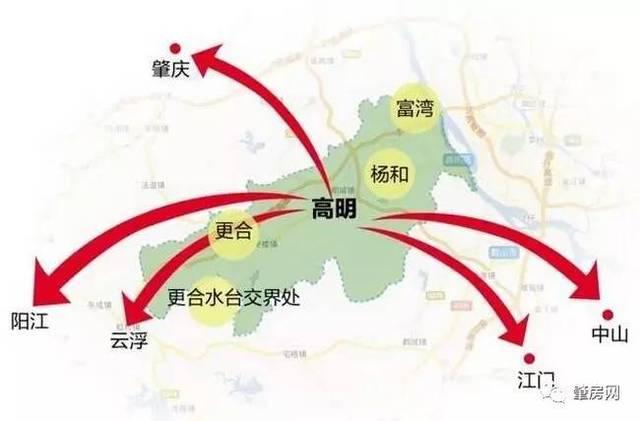 怀集幸福片区规划图