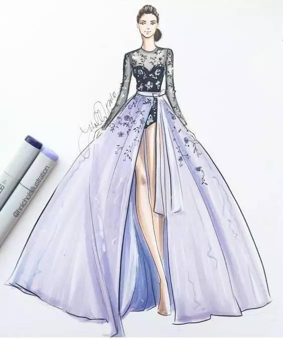 时装画 礼服设计手绘表现技法 ▼  ▼  1.制定学习计划 2.