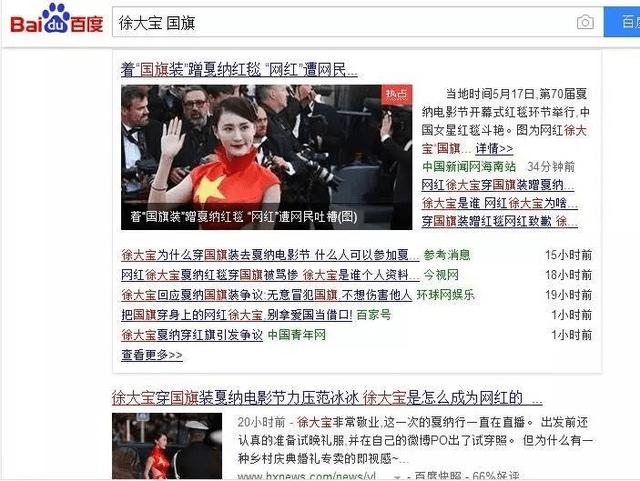 """谁说戛纳电影节上的徐大宝穿的是""""国旗""""!关之琳王晶电影图片"""