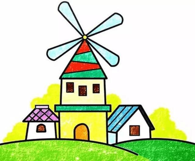 幼儿园美术:蜡笔画作品欣赏,让孩子感受画画乐趣