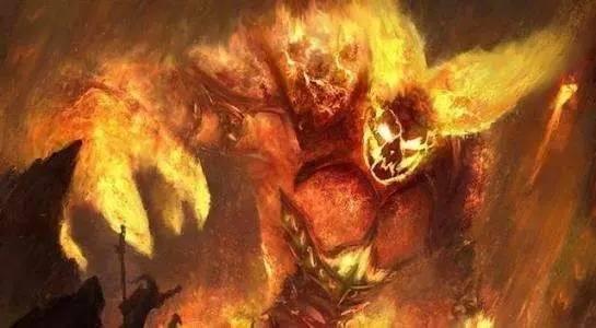 第五名:炎魔之王拉格纳罗斯
