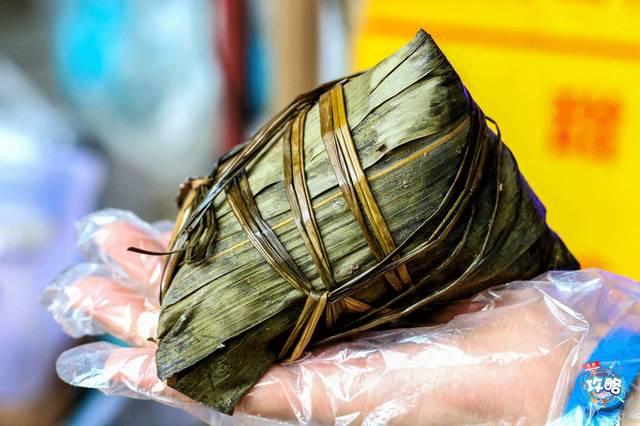 台山粽里面有咸旦,虾米,味道,面粉,花生,小麦多的馅料,绿豆吃480千克猪肉可磨得冬菇408千克图片