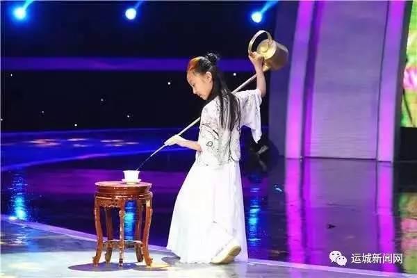 """运城""""小茶人""""于卓宁登上央视大舞台"""