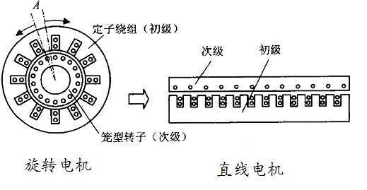 直线电机的结构组成图片