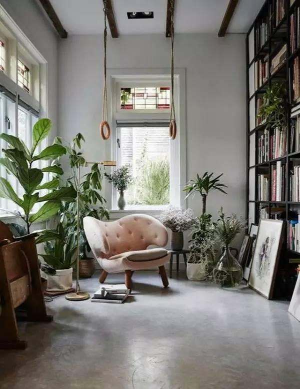 绿植,让人与自然的和谐在室内设计中成为可能!图片