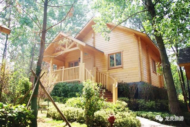 地址:南京市浦口区不老村内 5 森林里的松果木屋——像松鼠一样生活图片