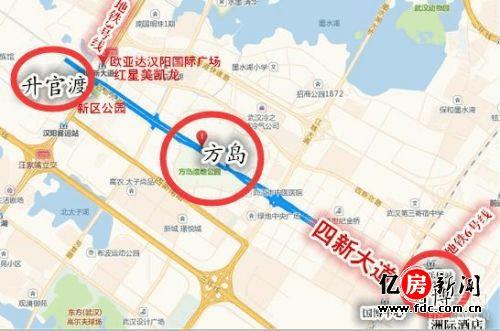 2017四新将成武汉写字楼集中营 方岛地铁通通兑现