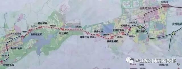 临杭新区规划图