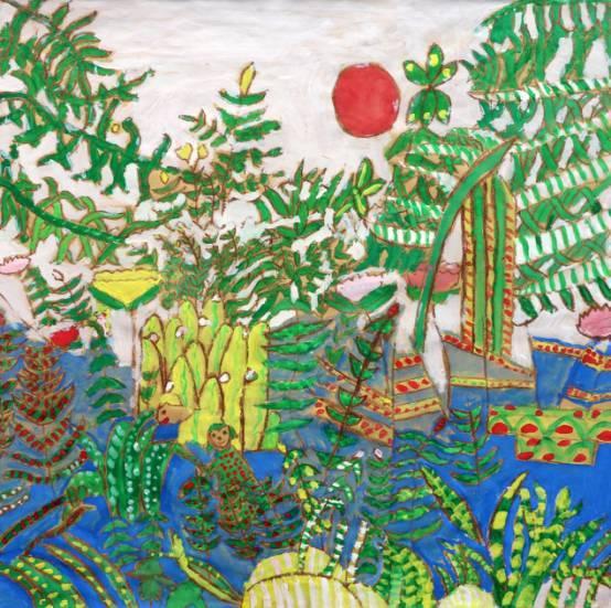 """""""森林城市 美丽家园""""大良街道中小学生绘画大赛作品欣赏,你最喜欢哪一图片"""
