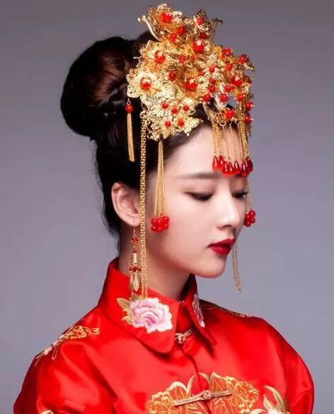 秀禾新娘造型,演繹傳統中式復古美!圖片