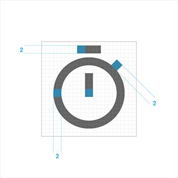 UI学习设计图标的app标志设计规范国外常用logo设计图片图片