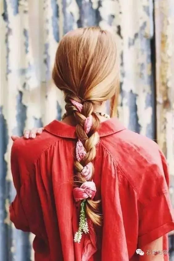 丝巾系法|学会这几招,你可以从头美到脚