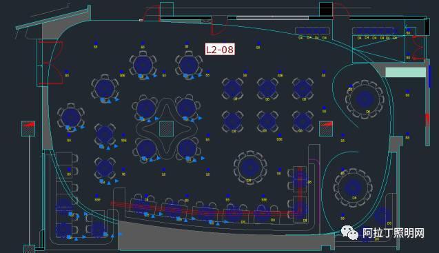 cad灯具囹/��(j_如何在cad中快速统计灯具数量及灯带长度