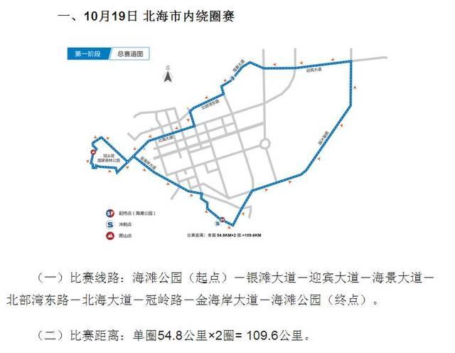 环广西公路自行车世界巡回赛将于10月