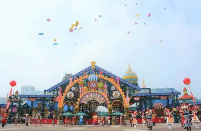 万达首日|哈尔滨开园乐园精彩纷呈,a乐园持续中九天玄鸟免费电影图片